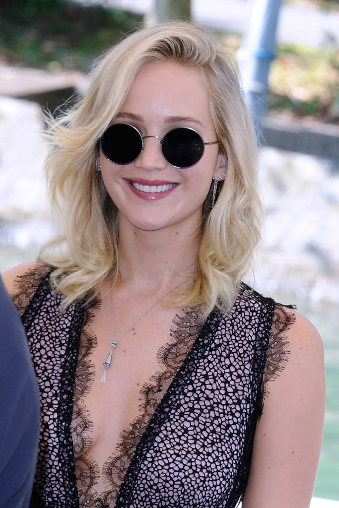 Jennifer Lawrence at the Casino During the 74th Venice International Film Festival in Italy-3