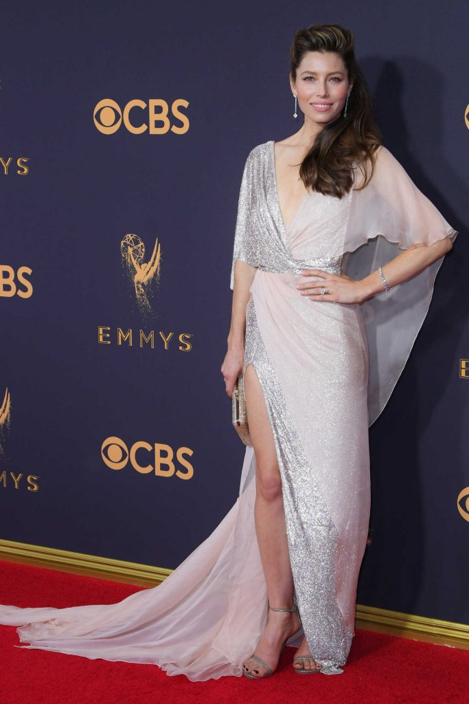 Jessica Biel at the 69th Annual Primetime Emmy Awards in Los Angeles-1