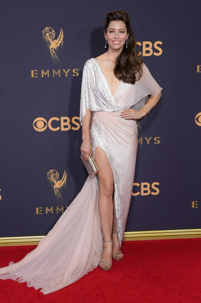 Jessica Biel at the 69th Annual Primetime Emmy Awards in Los Angeles-2