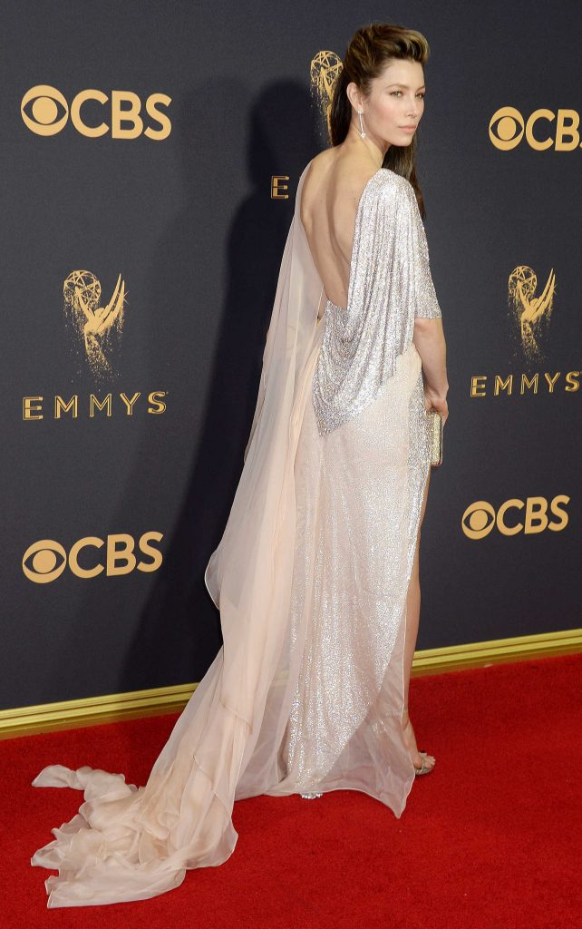 Jessica Biel at the 69th Annual Primetime Emmy Awards in Los Angeles-3