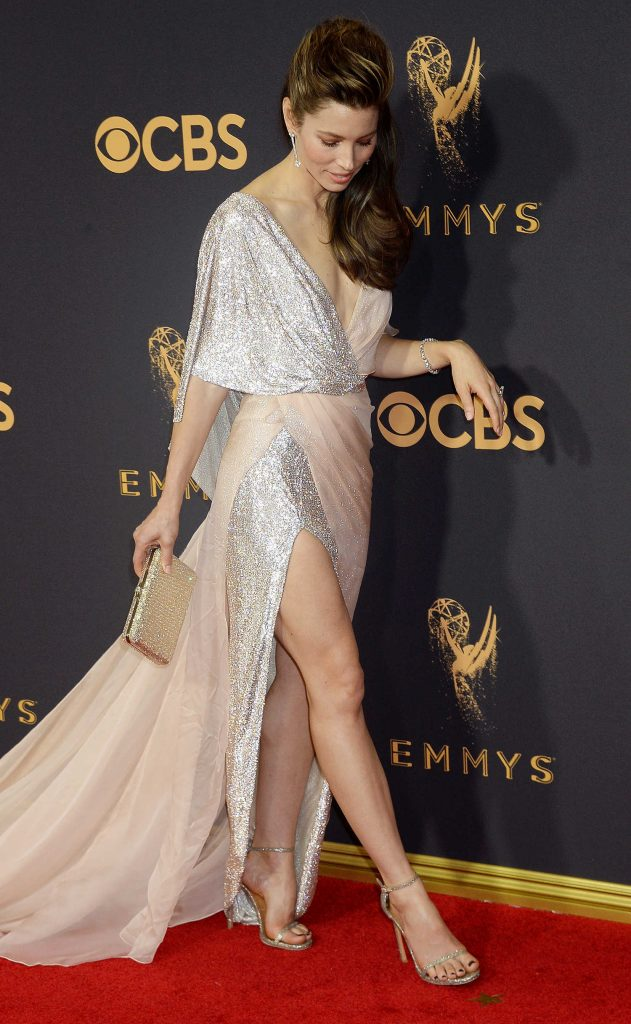 Jessica Biel at the 69th Annual Primetime Emmy Awards in Los Angeles-4