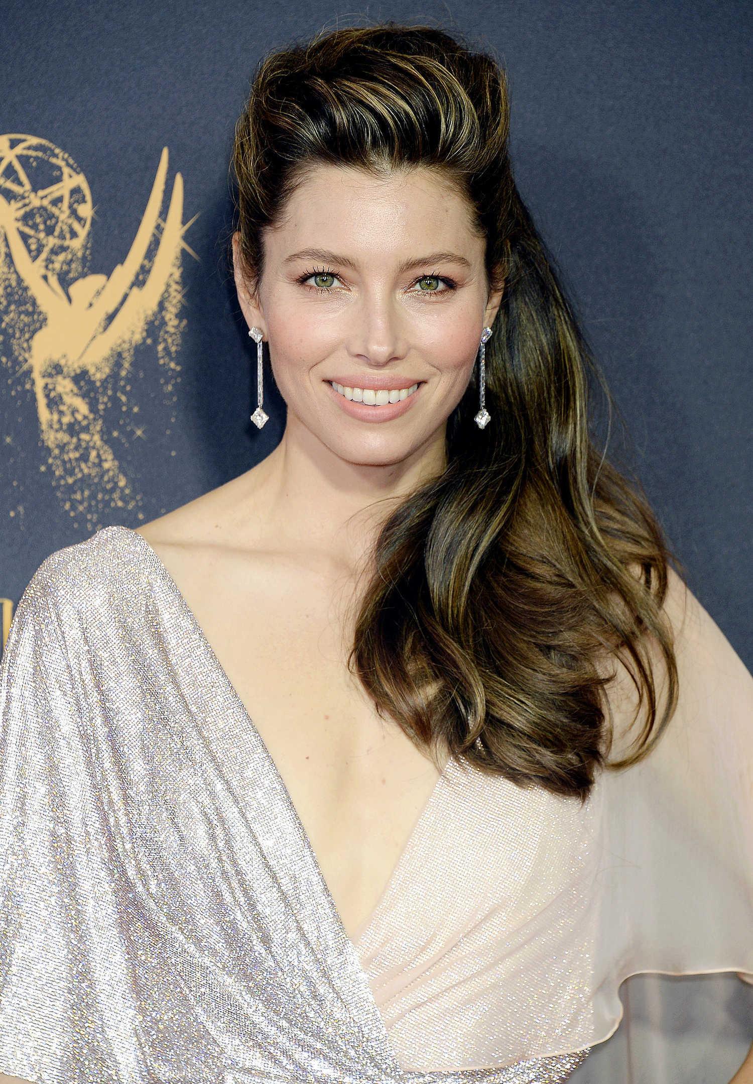 Jessica Biel at the 69th Annual Primetime Emmy Awards in ... Jessica Biel