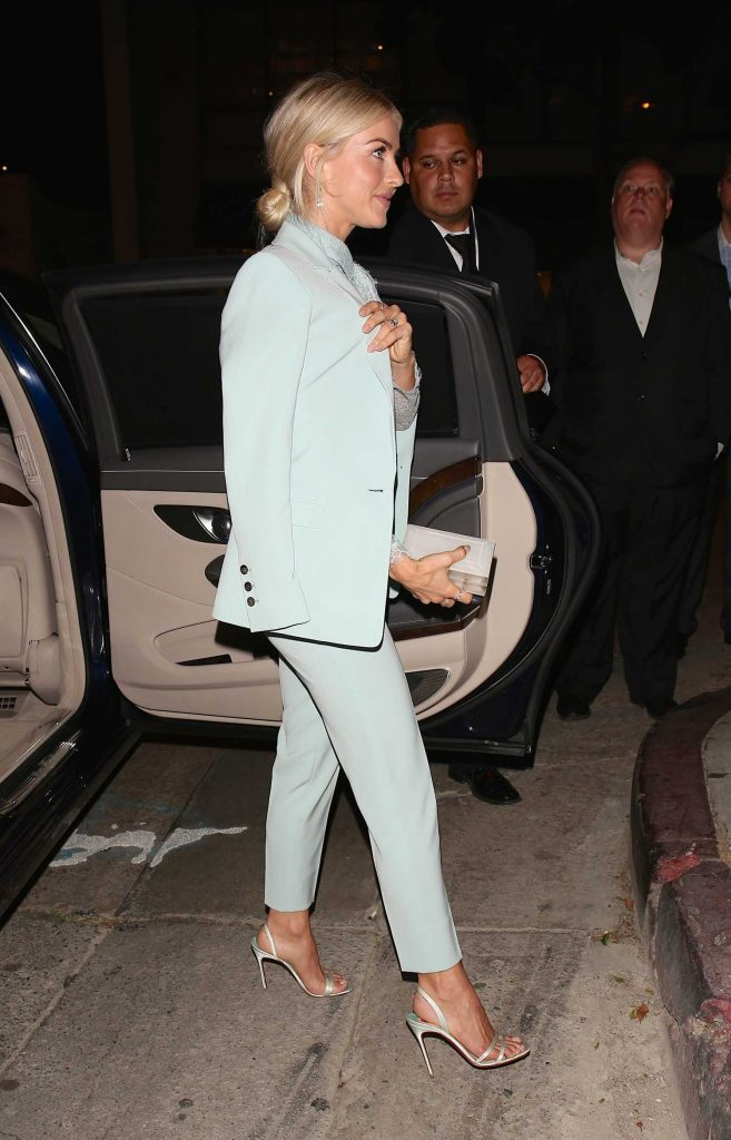 Julianne Hough Leaves the Variety and Women in Film Emmy Nominee Celebration in Los Angeles-4