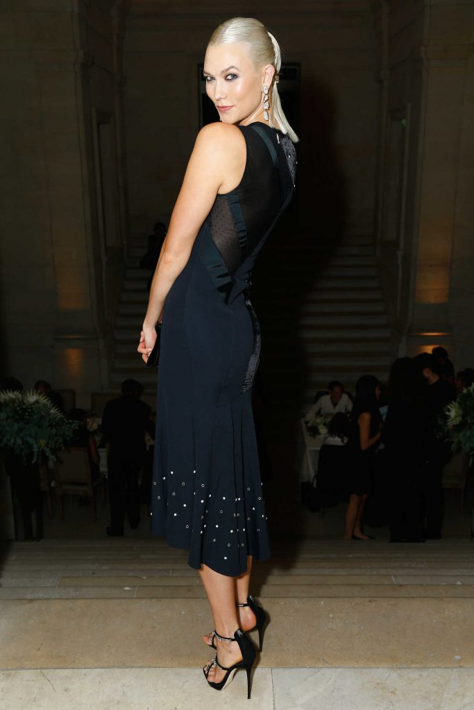 Karlie Kloss at the Atelier Swarovski By Jason Wu Dinner During Paris Fashion Week-2