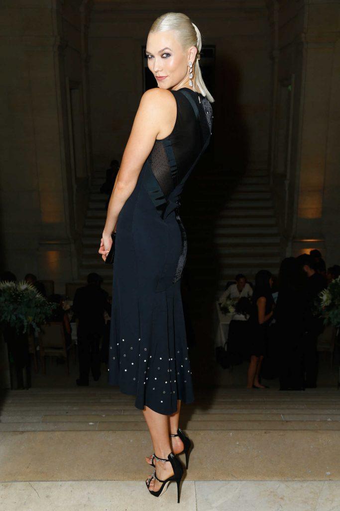 Karlie Kloss at the Atelier Swarovski By Jason Wu Dinner During Paris Fashion Week-2