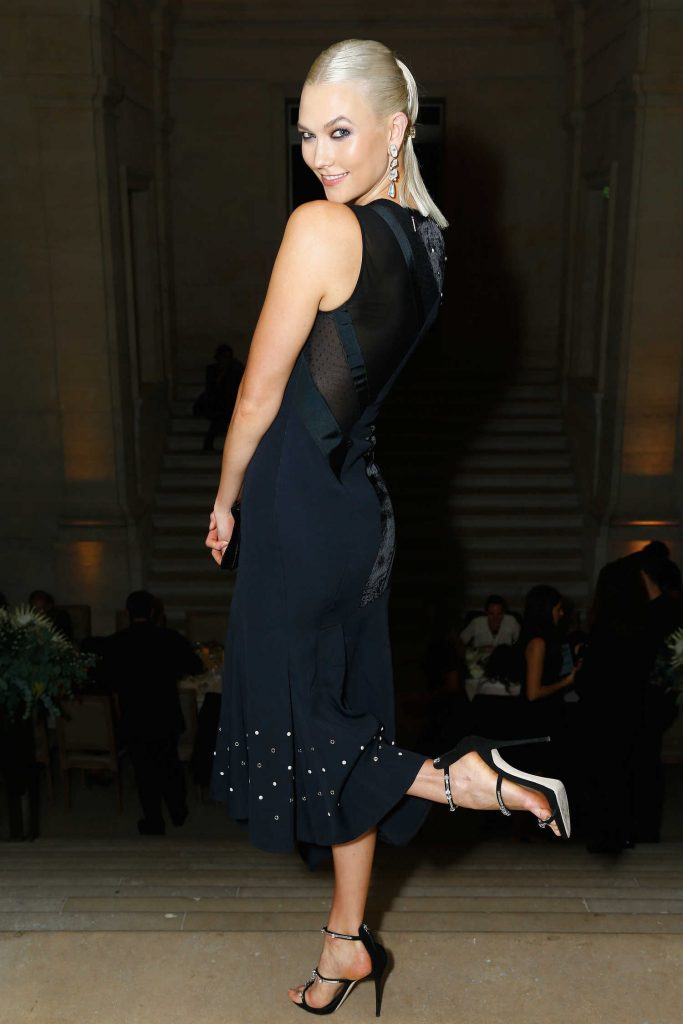 Karlie Kloss at the Atelier Swarovski By Jason Wu Dinner During Paris Fashion Week-3