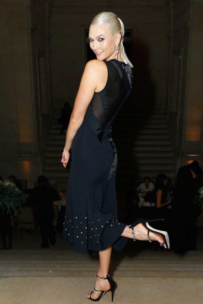 Karlie Kloss at the Atelier Swarovski By Jason Wu Dinner During Paris Fashion Week-3