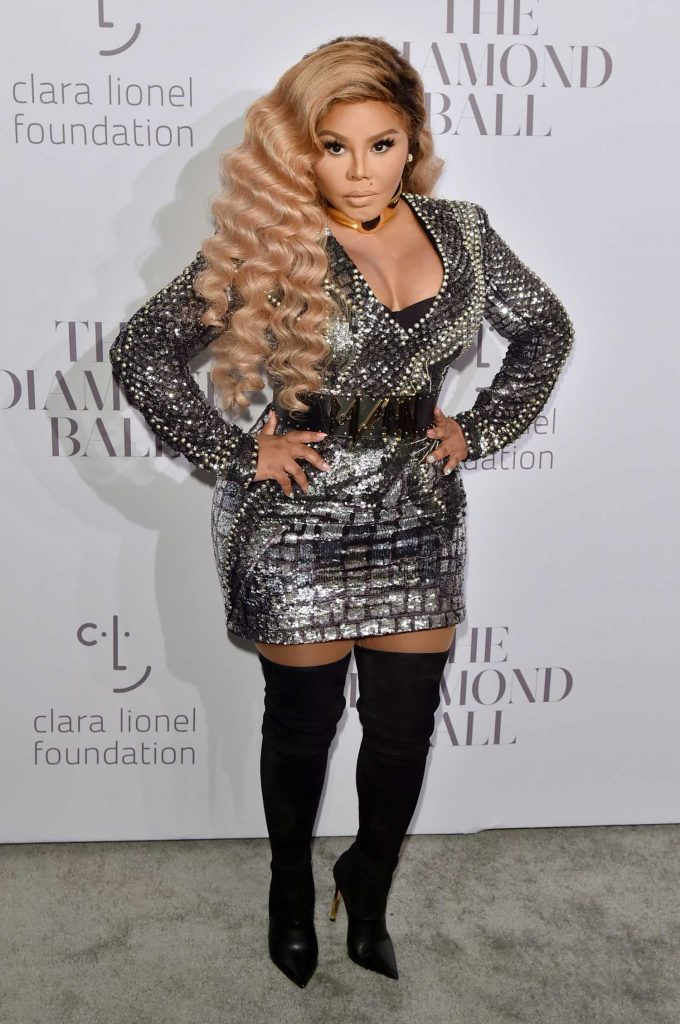 Lil Kim at the Rihanna's 3rd Annual Clara Lionel Foundation Diamond Ball in New York-1