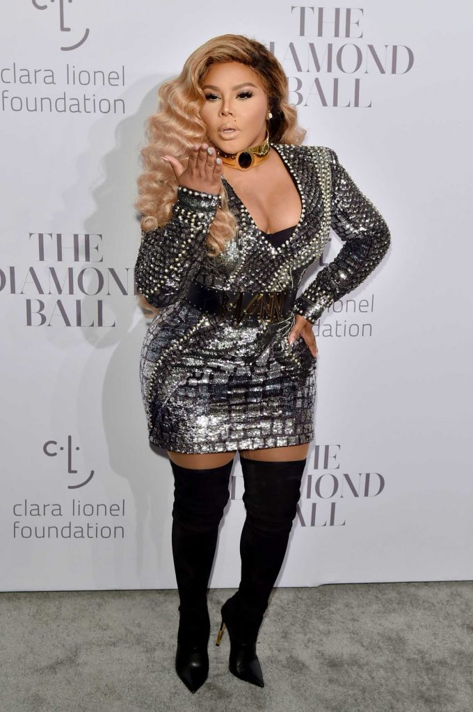 Lil Kim at the Rihanna's 3rd Annual Clara Lionel Foundation Diamond Ball in New York-2