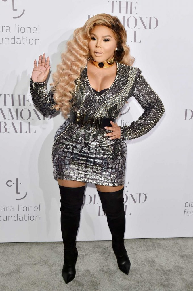 Lil Kim at the Rihanna's 3rd Annual Clara Lionel Foundation Diamond Ball in New York-3