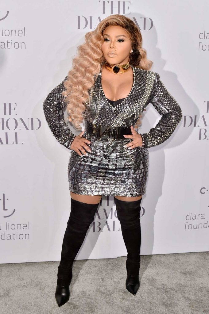 Lil Kim at the Rihanna's 3rd Annual Clara Lionel Foundation Diamond Ball in New York-4