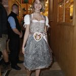 Lisa-Marie Koroll at Oktoberfest in Munich
