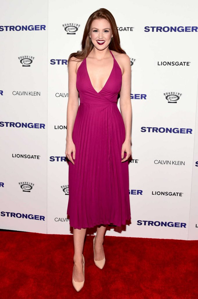 Maggie Geha at the Stronger Premiere in New York-1