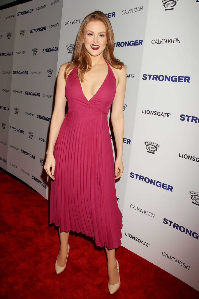 Maggie Geha at the Stronger Premiere in New York-2