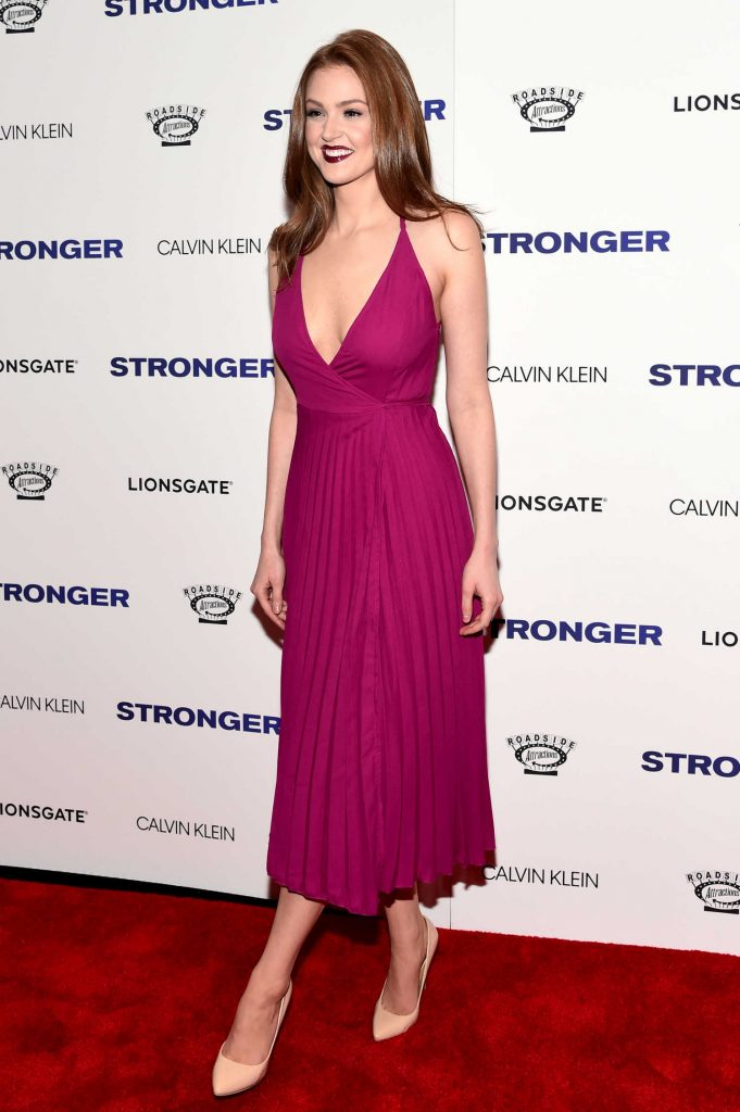 Maggie Geha at the Stronger Premiere in New York-3