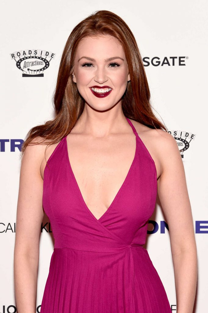 Maggie Geha at the Stronger Premiere in New York-4