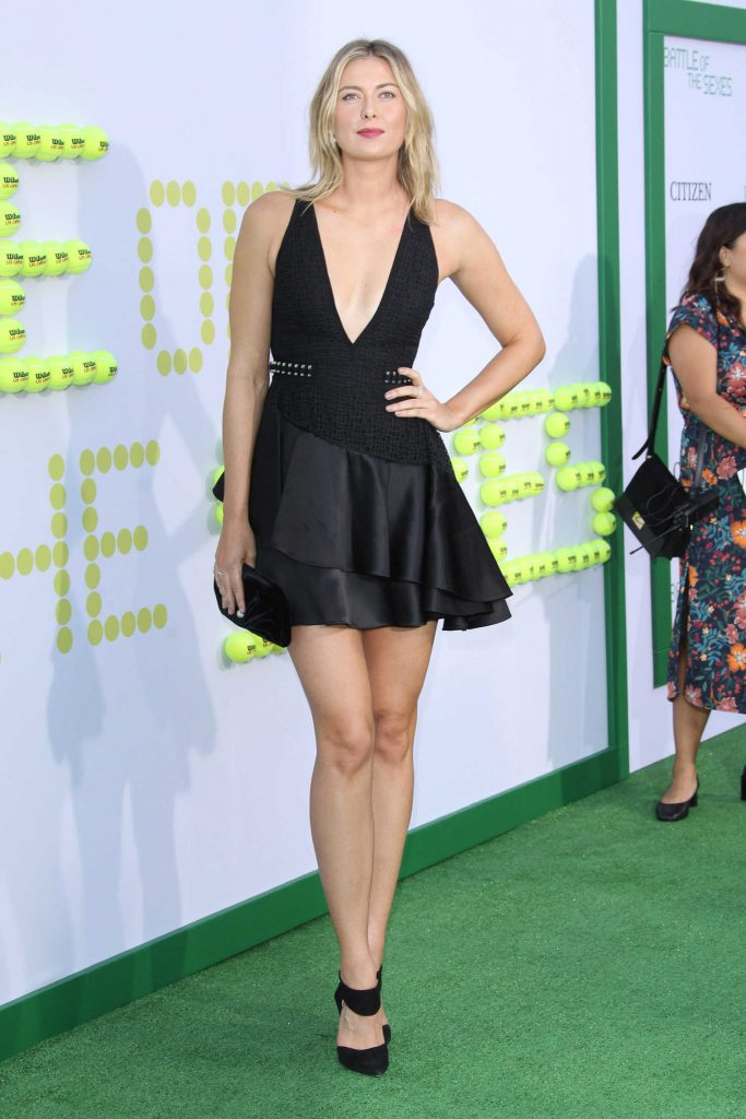Maria Sharapova at Battle of the Sexes Premiere in Los Angeles-1