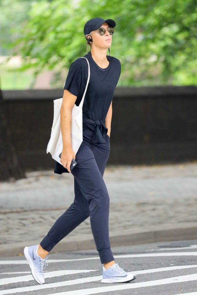 Maria Sharapova Goes for a Quiet Stroll in NYC-1