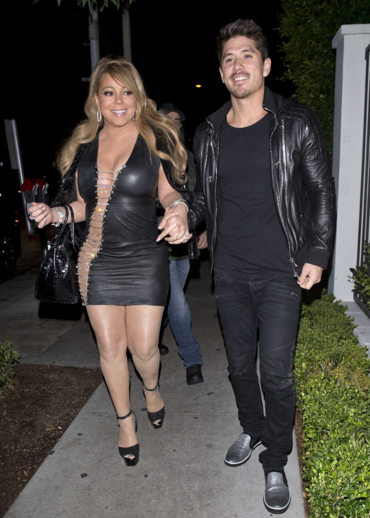 Mariah Carey Leaves the Gracias Madre Restaurant in West Hollywood-4