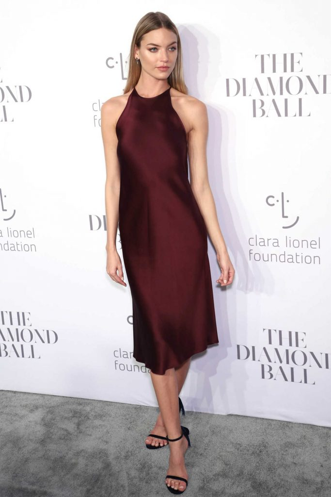 Martha Hunt at the Rihanna's 3rd Annual Clara Lionel Foundation Diamond Ball in New York-1