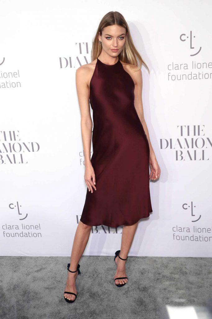 Martha Hunt at the Rihanna's 3rd Annual Clara Lionel Foundation Diamond Ball in New York-4