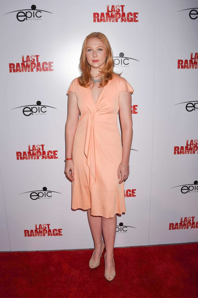 Molly Quinn at The Last Rampage Premiere at ArcLight Cinemas in Los Angeles-1