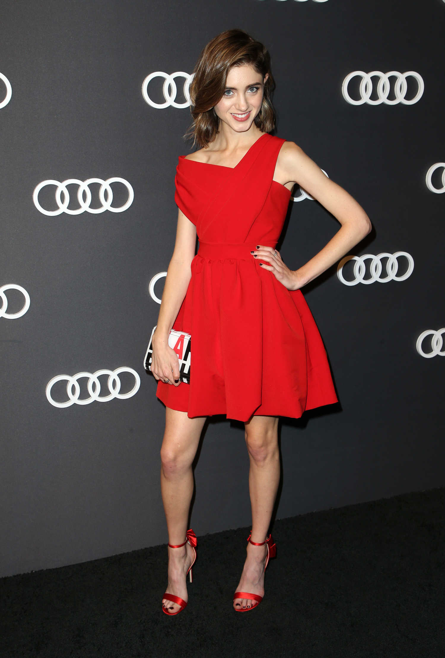 Natalia Dyer At Audi Emmy Party In Los Angeles Celeb Donut