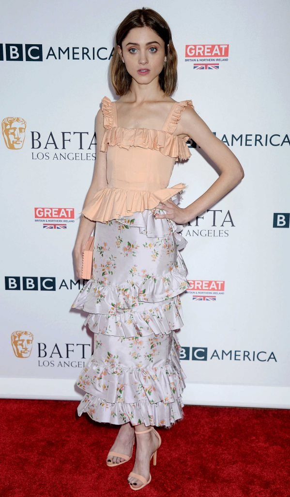 Natalia Dyer at BAFTA Tea Party in Los Angeles-1