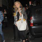 Natalie Dormer Leaves Town House Restaurant in London