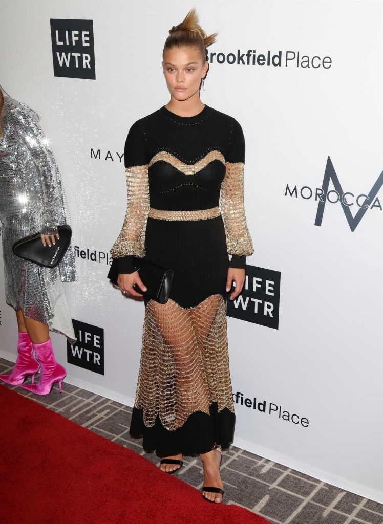 Nina Agdal at Daily Front Row Fashion Awards During New York Fashion Week-1