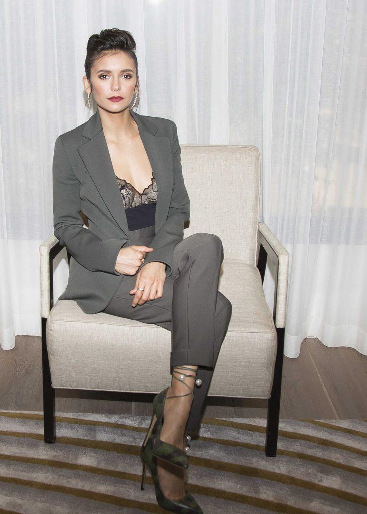Nina Dobrev at the Flatliners Press Conference in NYC-4