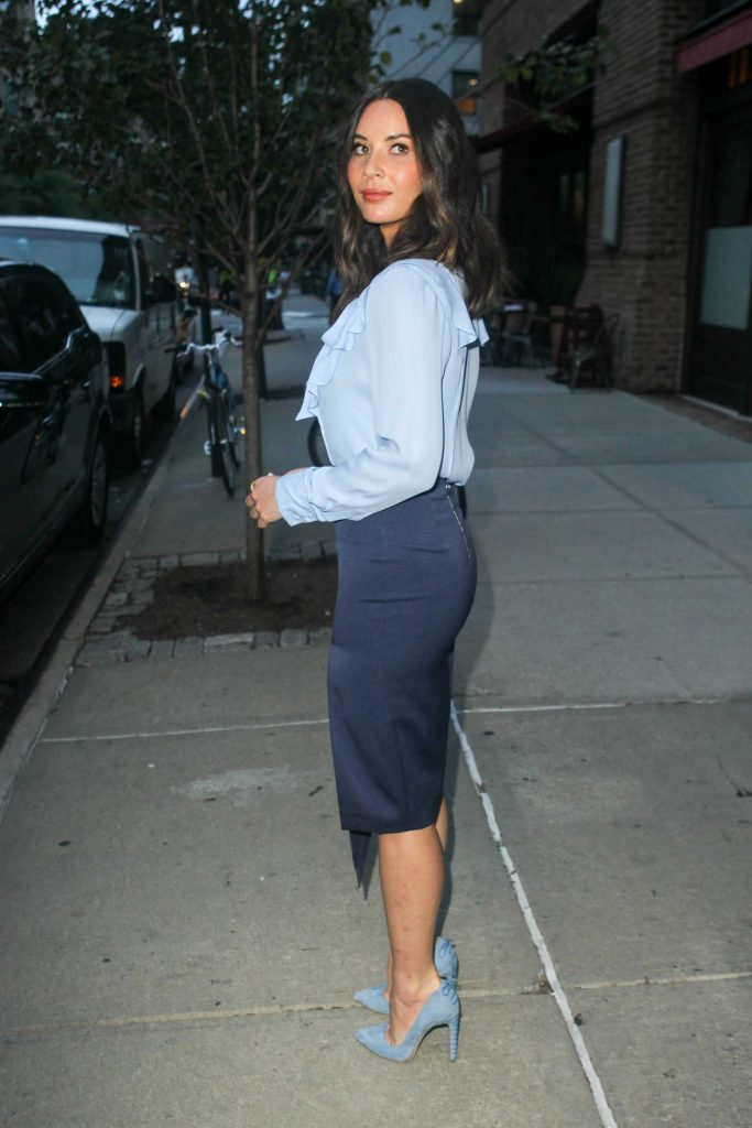 Olivia Munn Leaves Her Hotel in NYC-4