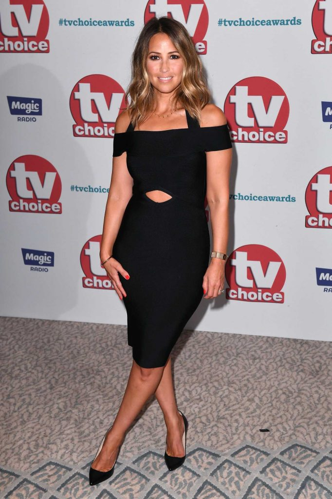 Rachel Stevens at TV Choice Awards at The Dorchester in London-1