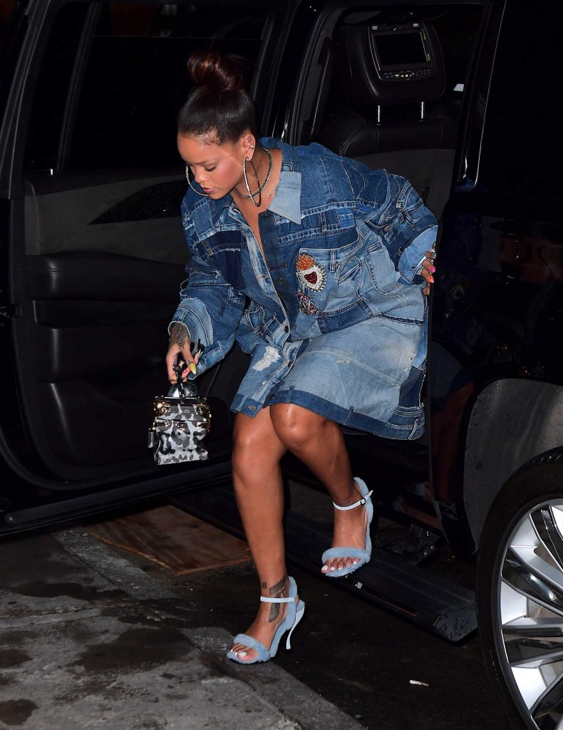 Rihanna Arrives at Her Diamond Ball Charity Event in New York-2