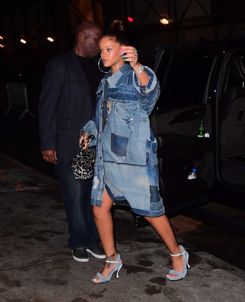 Rihanna Arrives at Her Diamond Ball Charity Event in New York-4
