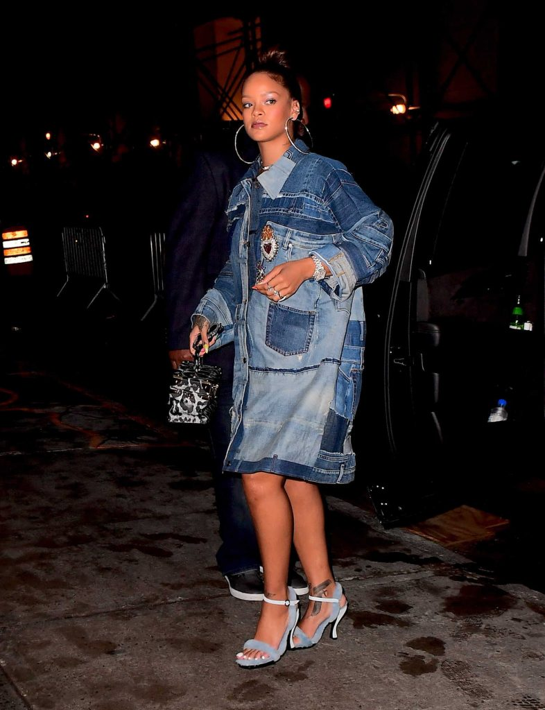 Rihanna Arrives at Her Diamond Ball Charity Event in New York-5