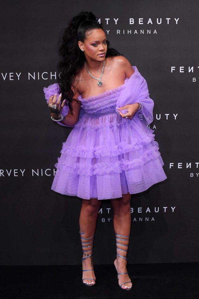 Rihanna at Fenty Beauty Launch Party in London-2