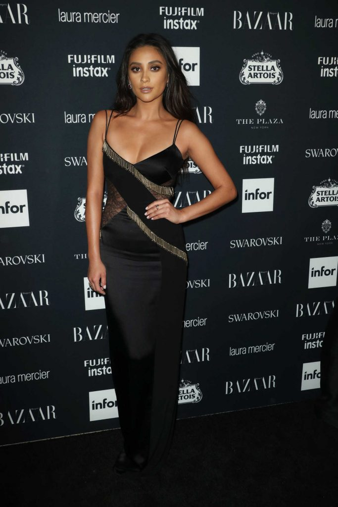 Shay Mitchell at Harper's Bazaar ICONS Party During New York Fashion Week-1