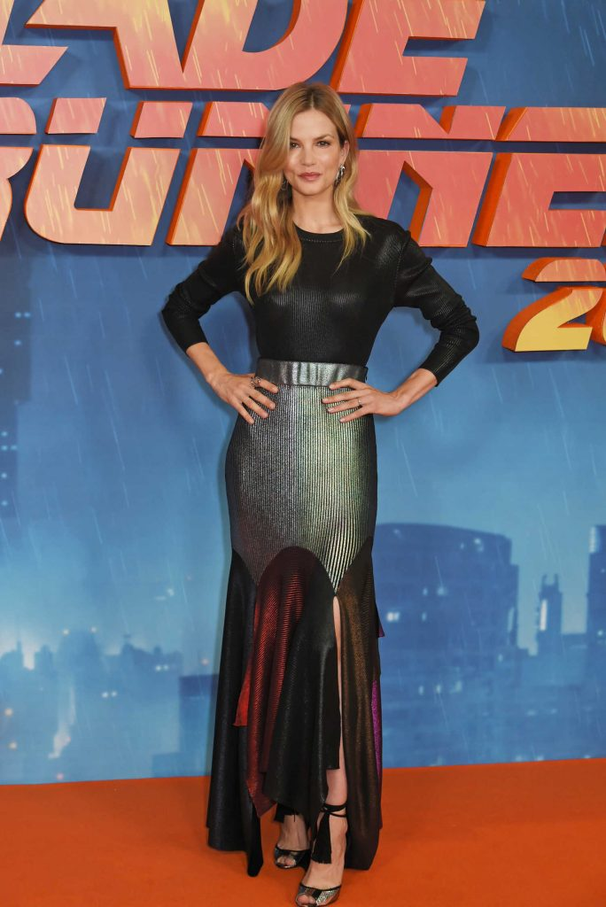 Sylvia Hoeks at the Blade Runner 2049 Photocall in London-1