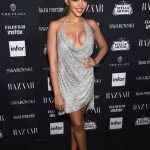 Tinashe at Harper's Bazaar ICONS Party During New York Fashion Week