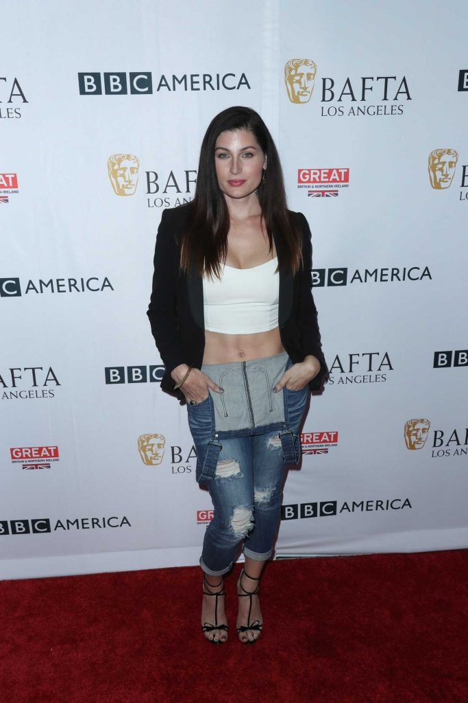 Trace Lysette at BAFTA Tea Party in Los Angeles-1