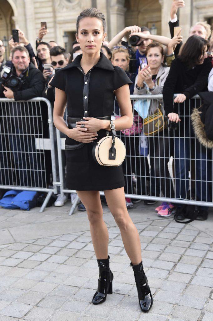 Alicia Vikander at the Louis Vuitton Show During Paris Fashion Week-4