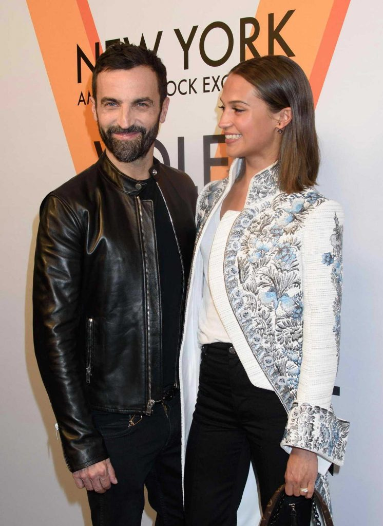 Alicia Vikander at the Volez, Voguez, Voyagez: Louis Vuitton Exhibition Opening in NYC-5