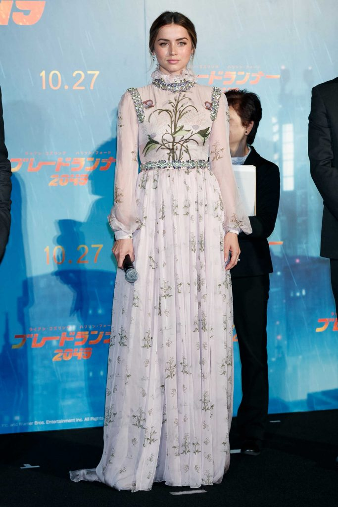 Ana de Armas at the Blade Runner 2049 Premiere in Tokyo-1
