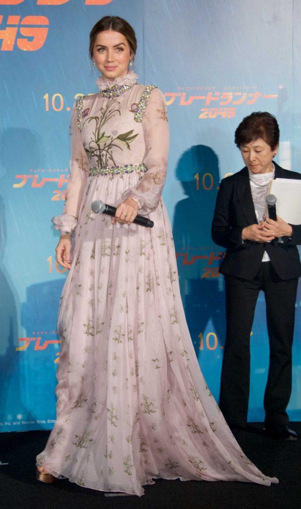 Ana de Armas at the Blade Runner 2049 Premiere in Tokyo-3