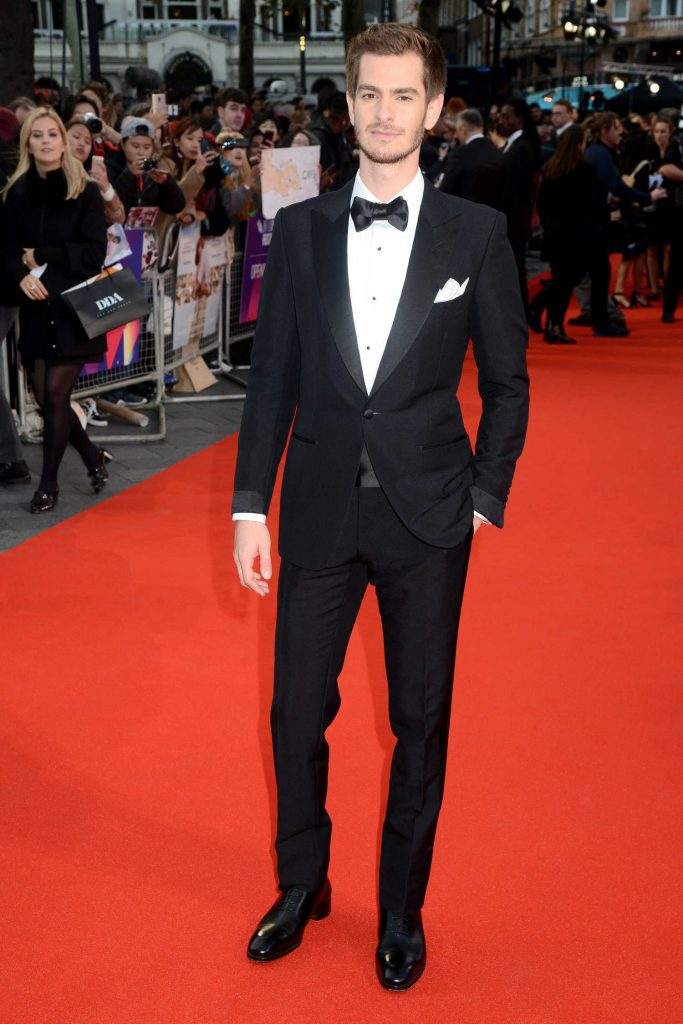Andrew Garfield at the Breathe Premiere During the 61st BFI London Film Festival-1