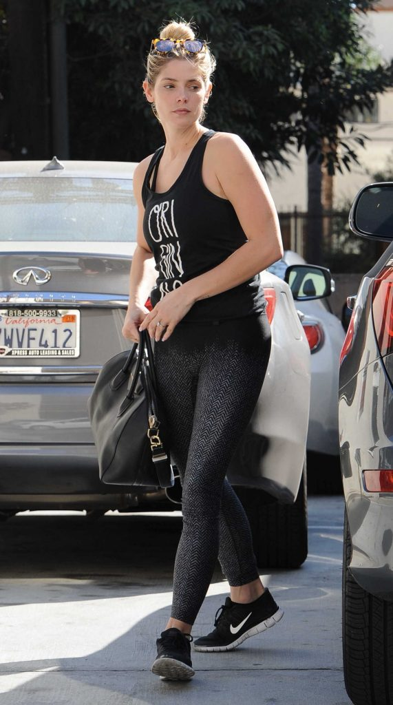 Ashley Greene Was Spotted Out in West Hollywood-1