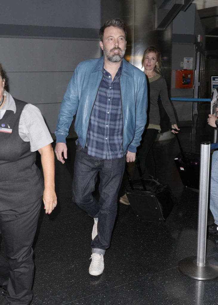 Ben Affleck Was Seen at JFK Airport in New York City-1