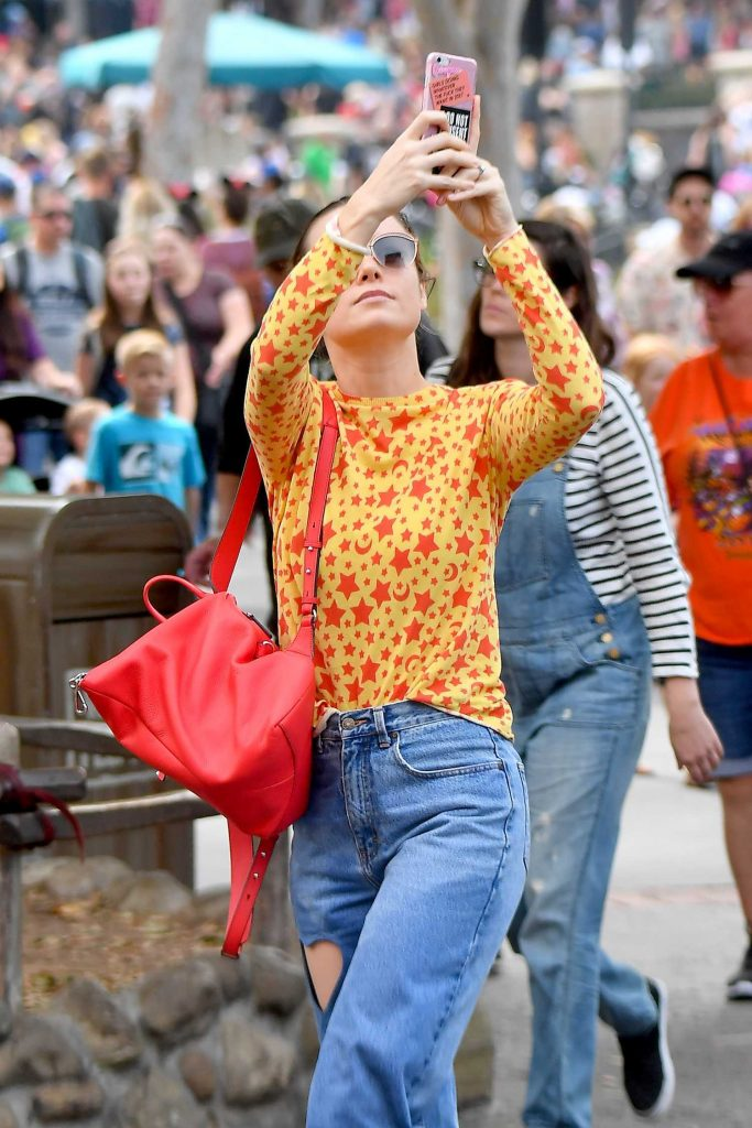 Brie Larson Was Seen at Disneyland in Anaheim-5
