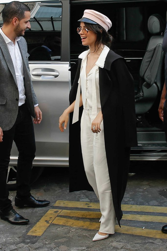 Camila Cabello Arrives at Her Hotel in Paris-2